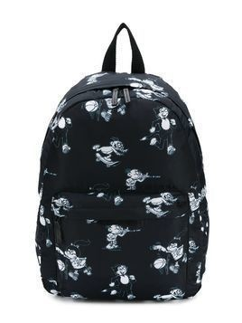 Stella Mccartney Kids Dandy print backpack - Black