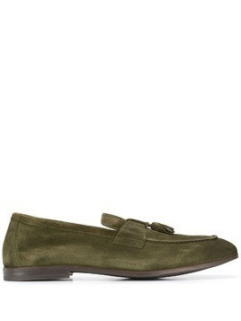 Doucal's classic loafers - Green