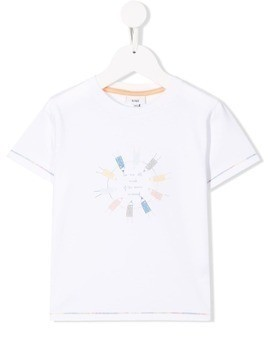 Knot Crayons T-shirt - White