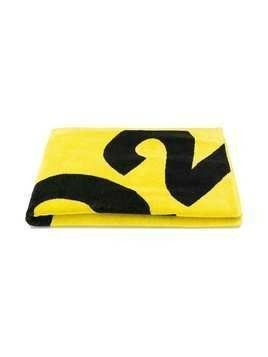 Dsquared2 Kids logo beach towel - Yellow