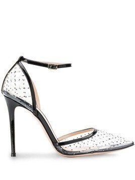 Gianvito Rossi crystal embellished pumps - Black