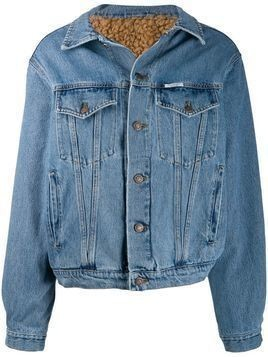 Forte Dei Marmi Couture lined denim jacket - Blue