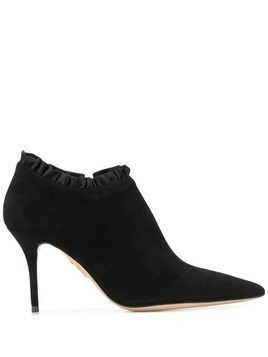 Charlotte Olympia pointed ankle boots - Black