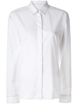 Dion Lee pin stitch detail shirt - White