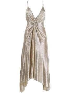 Galvan Supernova dress - Gold