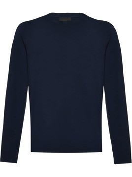 Prada stretch cotton T-shirt - Blue