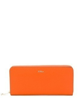 Furla long zip-around wallet - Orange