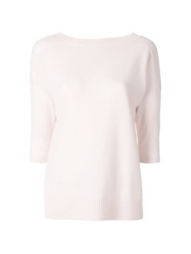 Max Mara cashmere knitted top - Pink&Purple
