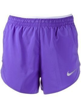 Nike logo print track shorts - Purple