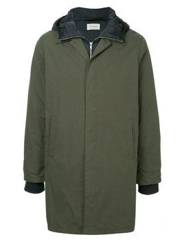 Wood Wood hybrid zipped coat - Green