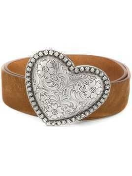 B-Low The Belt Dolly heart buckle belt - Brown