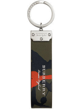 Burberry Splash Trench keyring - Green