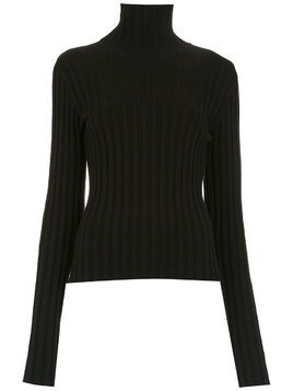 Gloria Coelho turtle neck knit top - Black