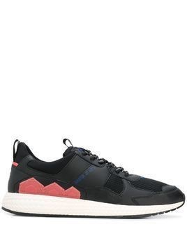 Moa Master Of Arts Futura panelled sneakers - Black