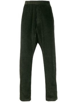 Barena tapered corduroy trousers - Green