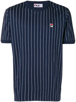 Fila striped logo T-shirt - Blue