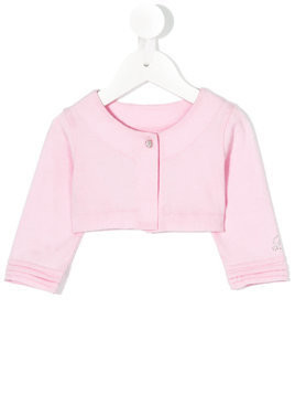 Lapin House cropped jacket - Pink & Purple