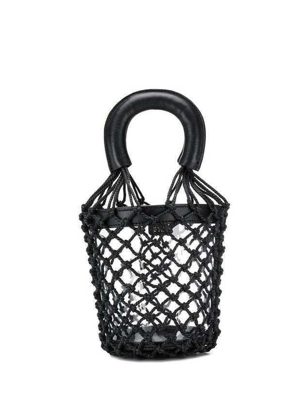 Staud rope bucket bag - Black