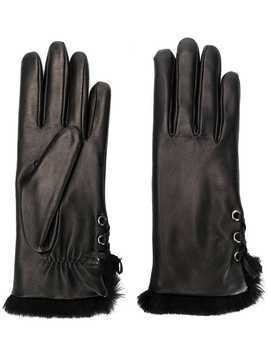 Agnelle Aliette gloves - Black
