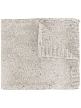 A Kind of Guise elongated fine knit scarf - Grey