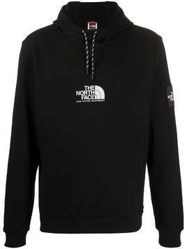 The North Face logo drawstring hoodie - Black