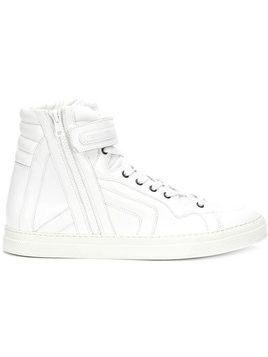 Pierre Hardy Match hi-top sneakers - White