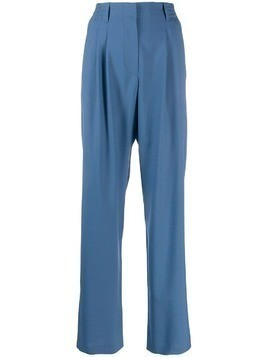 Indress wide-leg tailored trousers - Blue