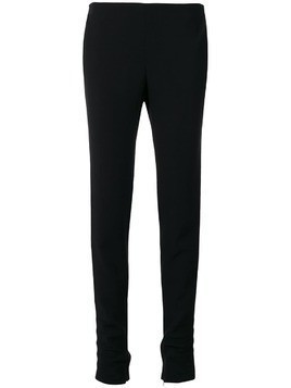 Giorgio Armani Pre-Owned classic skinny trousers - Black
