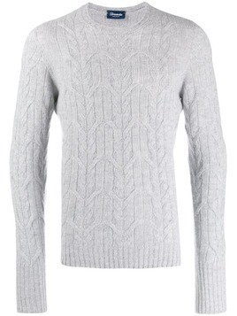 Drumohr long-sleeve fitted sweater - Grey