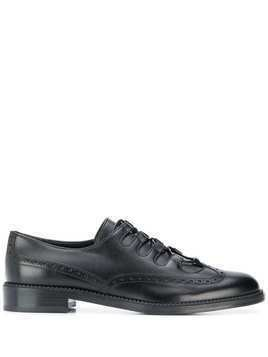 Salvatore Ferragamo lace-up brogues - Black