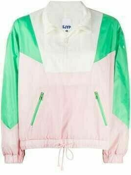 SJYP colour-block pullover jacket - PINK