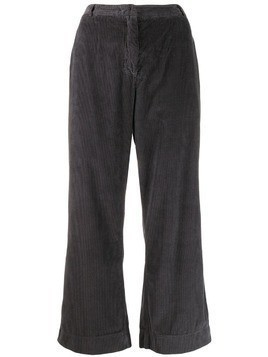 Kristensen Du Nord high waisted corduroy trousers - Grey