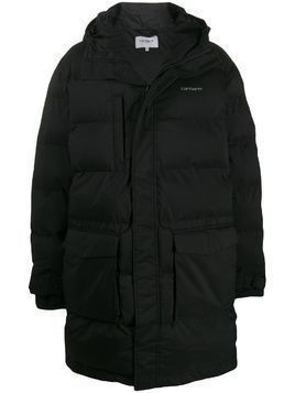 Carhartt WIP hooded padded jacket - Black