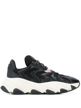 Ash chunky low top sneakers - Black