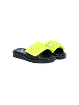 Am66 studded strap sandals - Yellow