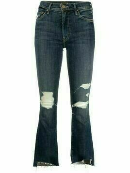 MOTHER kick-flare jeans - Blue