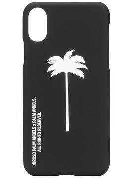 Palm Angels palm tree-print iPhone XS case - Black