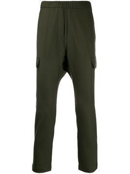Barena elasticated tapered leg trousers - Green