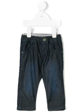 Boss Kids elasticated waist jeans - Blue