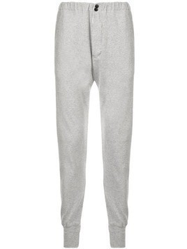 Bassike tapered track pants - Grey