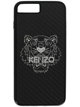 Kenzo Tiger print iPhone 8 plus case - Black