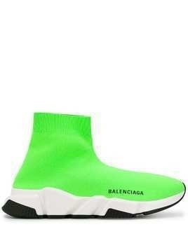 Balenciaga speed sock trainers - Green