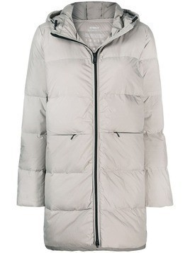 Ecoalf padded hooded coat - Neutrals