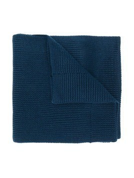 K Way Kids ribbed knit scarf - Blue