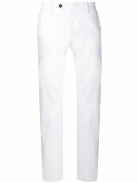 Al Duca D'Aosta 1902 straight leg trousers - White