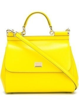 Dolce & Gabbana medium Sicily shoulder bag - Yellow & Orange