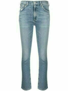 Citizens of Humanity Skyla mid-rise cigarette jeans - Blue