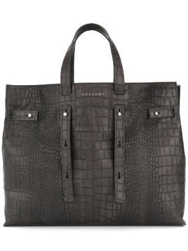 Orciani large tote - Black