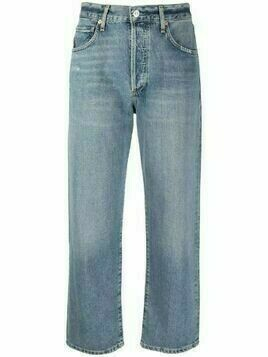 Citizens of Humanity mid-rise cropped jeans - Blue