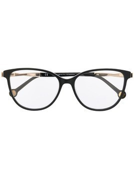 Ch Carolina Herrera cat eye glasses - Black